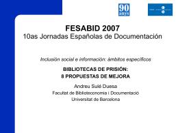 Bibliotecas de prisión: 8 propuestas de mejora