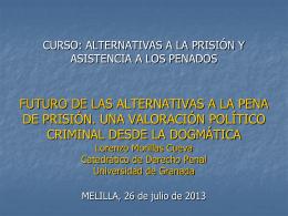 alternativas a la pena de prisión