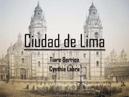 Ciudad de Lima - Historiaboston