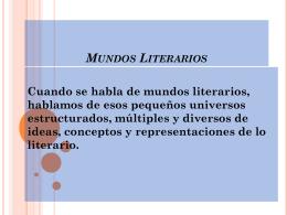 Mundos Literarios - Colegio San Isaac Jogues