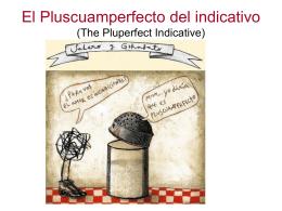 PPP El pluscuamperfecto