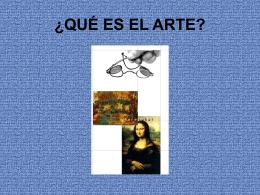¿Qué es el arte? PPT - TRAC / Taller de Reflexión en Arte