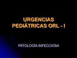 PATOLOGÍA INFECCIOSA OIDO