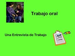 Una entrevista de trabajo - Español para inmigrantes y refugiados