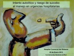 valoracion del riesgo suicida
