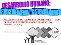 desarrollo y libertad - Universidad Autónoma de Colombia