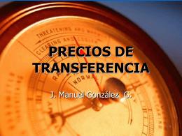 Presentación Precios de Transferencia