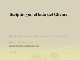 Maestría en Computación e Informática Jimmy Villalobos