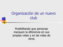 Club filial - Lions Clubs International