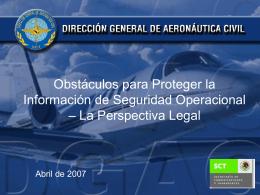 Obstáculos para Obtener Información La Ley de Aviación