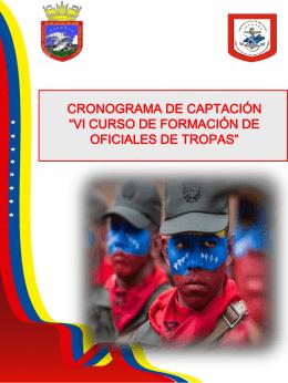 VI CURSO DE FORMACIÓN DE OFICIALES DE TROPAS