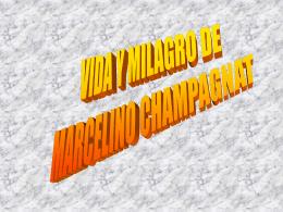 Vida y milagro de Marcelino Champagnat
