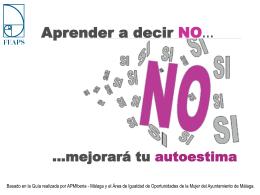Aprender a decir NO - FEAPS Región de Murcia