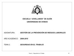 Tema1GPRLSesion4 - Universidad de Oviedo