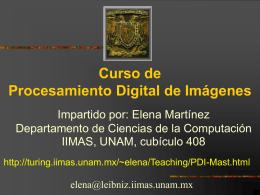 modelo de color - Departamento de Ciencias de la Computación