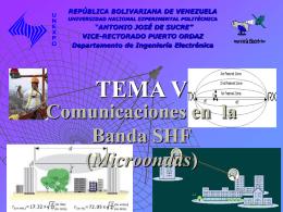 Banda SHF - Sistemas de Comunicaciones Electrónicas y sus Areas