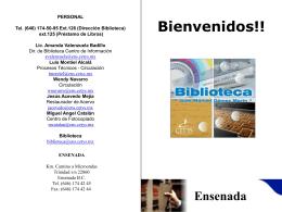Bienvenidos - CETYS Universidad