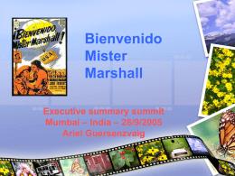 Descargar parodia de Bienvenido Mr. Marshall