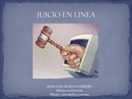 JUICIO EN LINEA