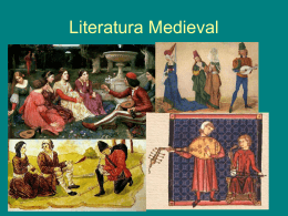 Literatura Medieval 1º Bach A