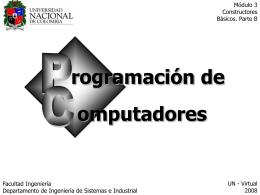 Historia de la Computación - Departamento de Ingeniería de