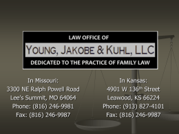 law office of james h. young and associates