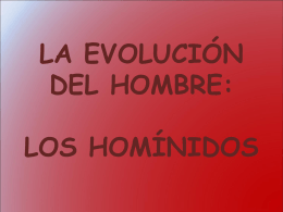 La Evolución del Hombre - IES JORGE JUAN / San Fernando