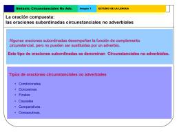 Sub. adverbiale