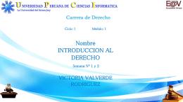 ORIGEN DEL DERECHO - Educación a Distancia | UPCI