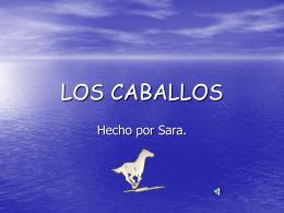 """LOS CABALLOS - """"Proyecto Hormiga""""."""