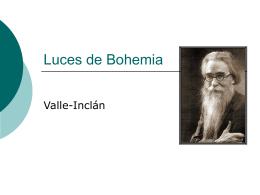 Luces de Bohemia - Segundos para la PAU