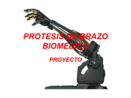 PROTESIS DE BRAZO BIOMEDICO