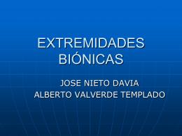Presentación Extremidades biónicas