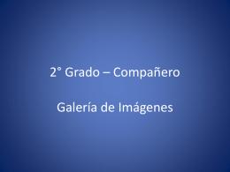 02° Grado – Compañero