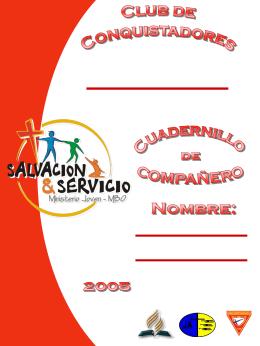 Cuadernillo Compañero - Guias Mayores Mexico IASD