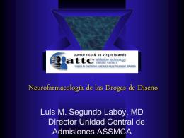 Neurofarmacología de las Drogas de Diseño