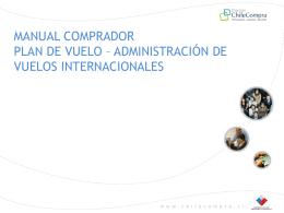Administración de Vuelos Internacionales