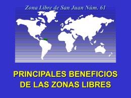 Zona Libre de San Juan Núm. 61