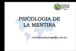 Psicologia-de-la-Mentira - Entrevista e Interrogatorio