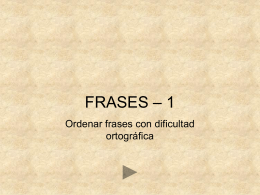 Frases - Aula PT