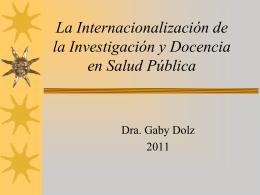 Investigación - DAAD Centro de Información para Centroamérica