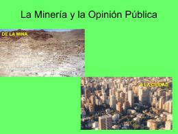 Que es la Minería? Para que sirve la Minería?