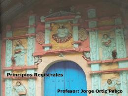 ¿Para qué sirve el Derecho Registral? Dr. Jorge Ortiz Pasco