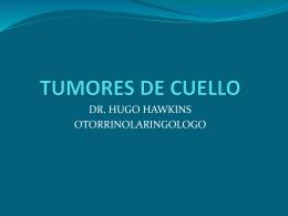 TUMORES DE CUELLO