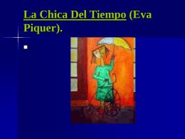 La Chica Del Tiempo (Eva Piquer)