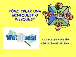 Webquest - Educando