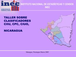 inclusiones en el cuonic - Instituto Nacional de Estadísticas