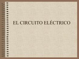 PARTES DE UN CIRCUITO ELÉCTRICO