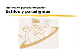 Estilos y paradigmas