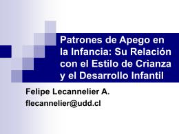 Patrones de Apego en la Infancia: Su Relación con el Estilo de
